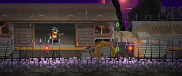 Grave Danger gilt als inspiriert von The Lost Vikings. Es gilt für den Spieler, die drei Charaktere Dante, Elliot und Malice ins Ziel zu bringen. Alle haben unterschiedliche...