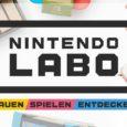 Mit der dritten Episode der Nintendo-Labo-Videoreihe wird es musikalisch: Mit Gummibändern lässt sich die Switch-Konsole ganz einfach in eine Gitarre...