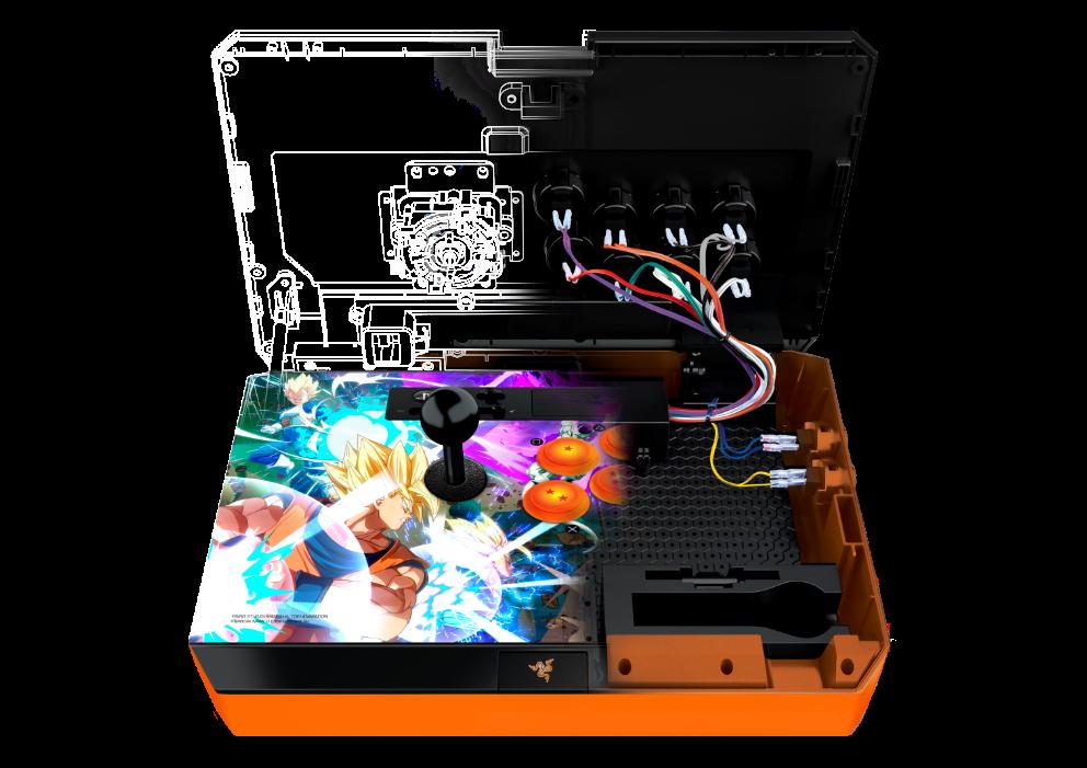 Arcade-Fighting-Stick zu Dragon Ball FighterZ