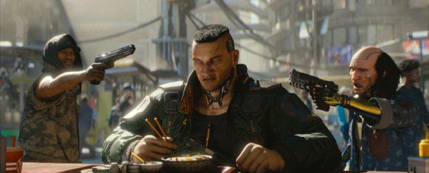 Cyberpunk 2077 setzt anders als The Witcher 3 auf die First-Person-Perspektive und ist auch nicht durch Kamera-Optionen auf eine andere Perspektive umstellbar.