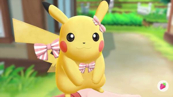 obtenir pas cher 2019 real nouveau design Accessoires in Pokémon: Let's Go, Evoli und Pikachu ...