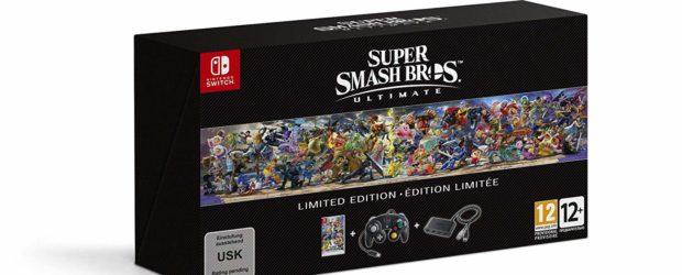 Die in dieser Woche angekündigte Limited Edition zu Super Smash Bros. Ultimate ist ab sofort vorbestellbar. Diese limitierte Fassung enthält das Spiel, einen...