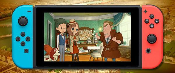 Gestern ist in Japan Layton's Mystery Journey: Katrielle and The Millionaires' Conspiracy DX (Layton's Mystery Journey: Katrielle und die Verschwörung der...