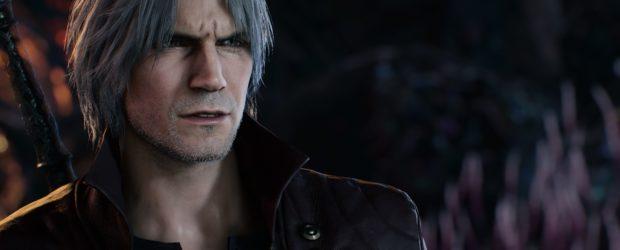 Ihr seht Dante dabei zusammen mit seinen vertrauten Weggefährten: den Pistolen Ebony und Ivory sowie einem Motorrad. Und ihr seht Mega Man.