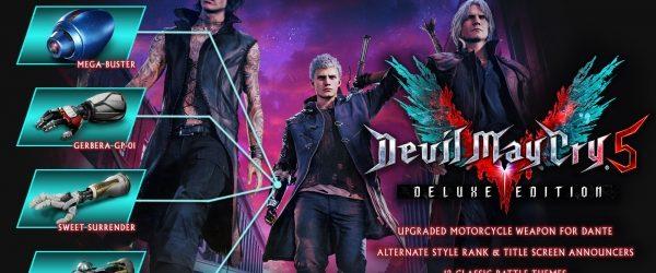In einem Beitrag auf dem hauseigenen Kanal Capcom Unity stellt der Entwickler die Deluxe Edition von Devil May Cry 5 nach und nach im...