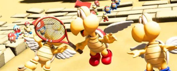 Noch im November wird Parakoopa das Charakter-Roster in Mario Tennis Aces erweitern. Wer bis zum 1. Dezember an Onlineturnieren teilnimmt, kann...