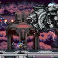 Die Hommage an Spiele wie Contra und Metal Slug zeigt uns zunächst die Auswahl von Charakteren, Mission und Schwierigkeitsgrad...