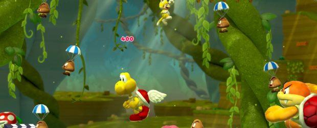 Online- und Offline-Modi, Mehrspieler, Level im Stil von Super Mario 3D World...