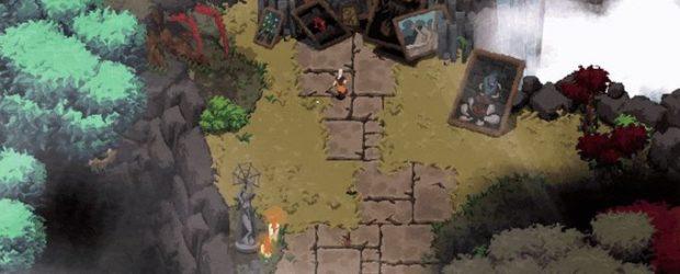 In der 2D-Welt von Ada kann man von Anfang an fast überall hin - solange man sich durch die Monster in den verschiedenen Zonen durchkämpfen kann.