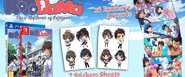 Alle physischen Versionen enthalten Karten und niedliche Sticker.