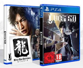 Judgment - mit Wendecover & Sticker