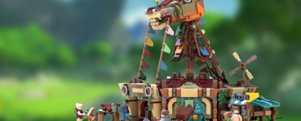 Hat das Zelda-Set eine Chance bei LEGO?