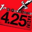 Auf der Seite seht ihr eine Calling Card mit dem Hinweis, dass eine weitere Info am 25. April erfolgen wird. Der Quelltext enthält eine versteckte Botschaft.