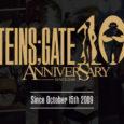 5pb. hat zum zehnten Geburtstag der Visual Novel Steins;Gate eine Webseite eröffnet. Das Logo wurde bereits im Dezember 2018 enthüllt. Auf dieser Seite...