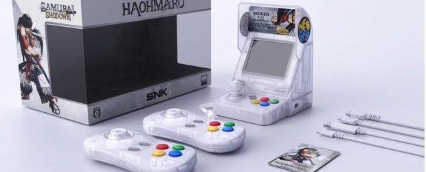 Der japanische Hersteller SNK gab nun bekannt, dass es limitierte Auflagen des Neo Geo Mini in verschiedenen Samurai-Shodown-Designs geben soll.