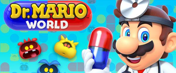 Ab sofort ist mit Dr. Mario World die neueste Nintendo-App als kostenloser Download erhältlich. Dr. Mario World kann kostenlos heruntergeladen werden...