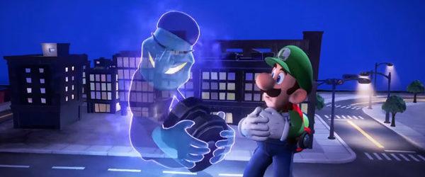 Damit gibt es erstmals zusammenhängendes Gameplay-Material zu sehen. Eins vorweg: Luigi ist auch im dritten Teil immer noch schreckhaft, aber dennoch...