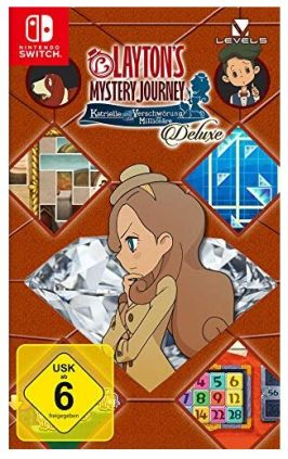 Layton's Mystery Journey - Deluxe Edition für Switch