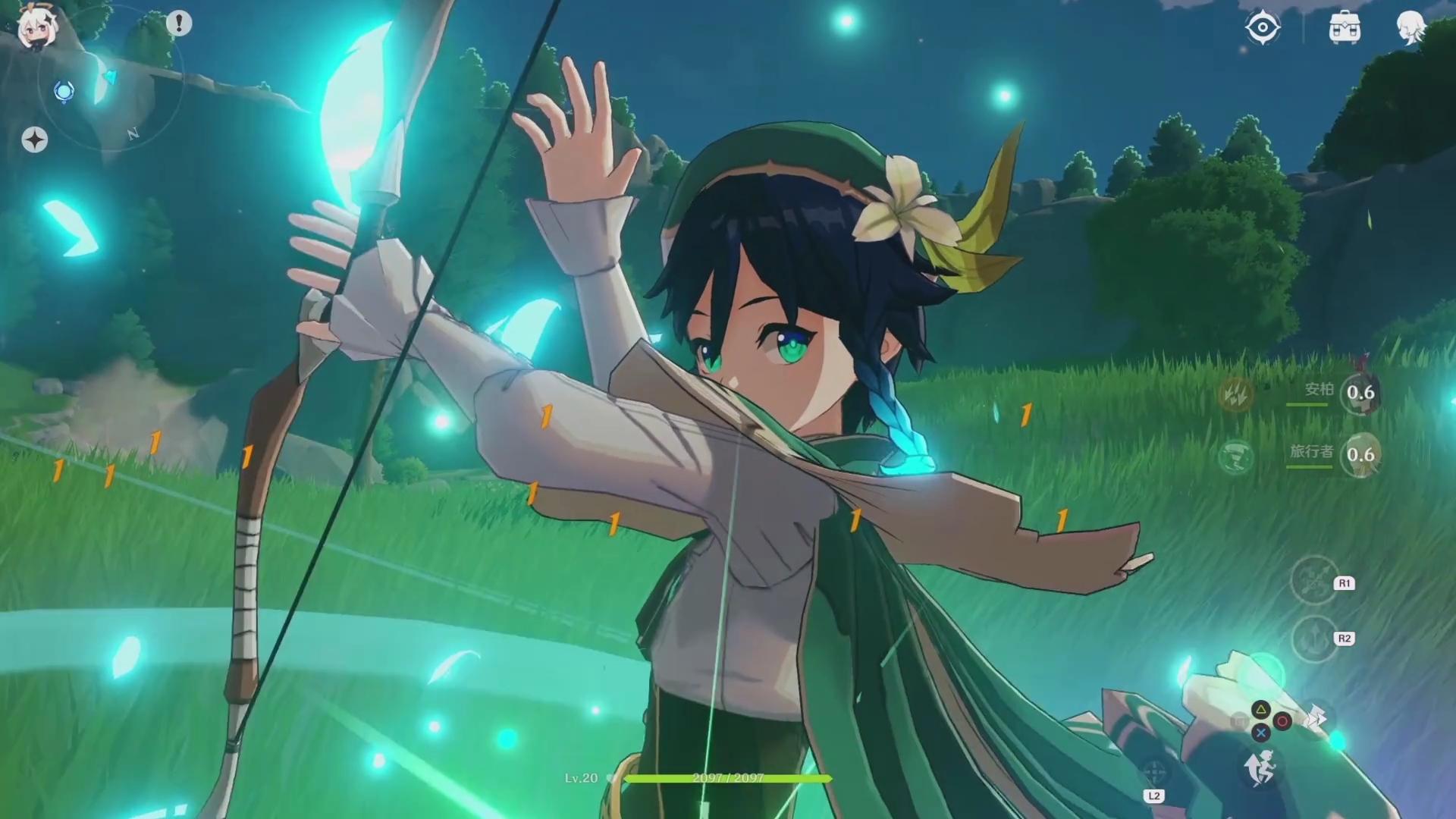 Genshin Impact Chinesisches Action Rpg Sorgt Mit Zelda