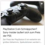 Preis der PlayStation 5
