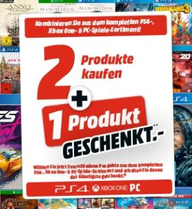 Media Markt 3 für 2 Games