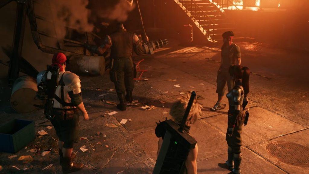 Final Fantasy VII Remake - Barret spricht