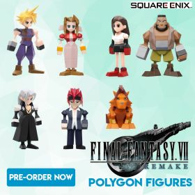 Final Fantasy VII Remake Poylgon Figuren