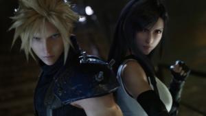 Final Fantasy VII Remake - Cloud und Tifa
