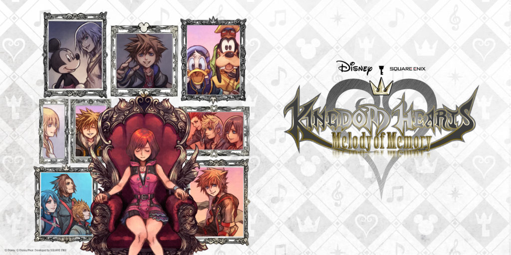 Kingdom Hearts: Melody of Memory Key Artwork