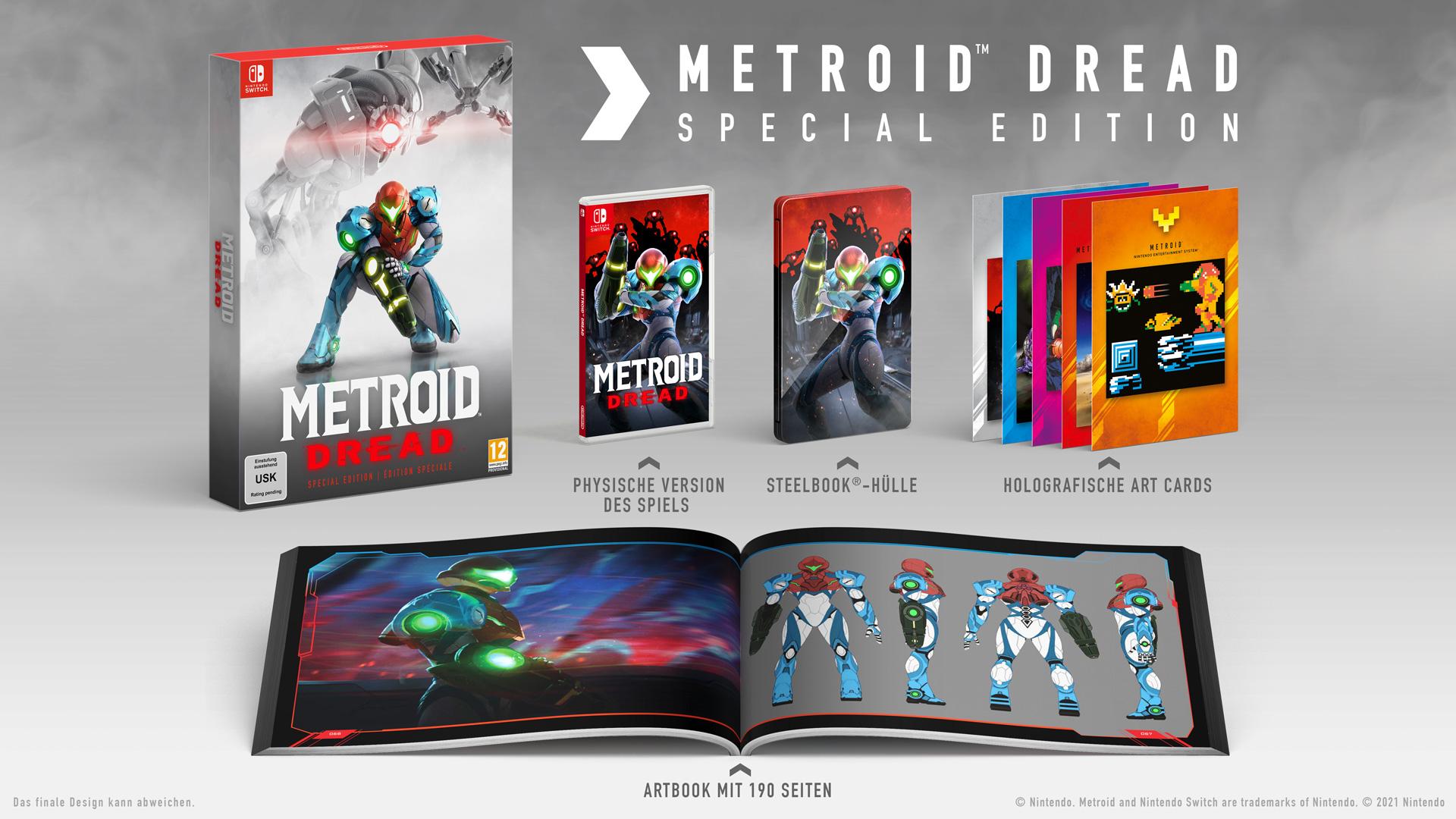 ▷Die Metroid Dread: Special Edition und amiibo könnt ihr jetzt vorbestellen